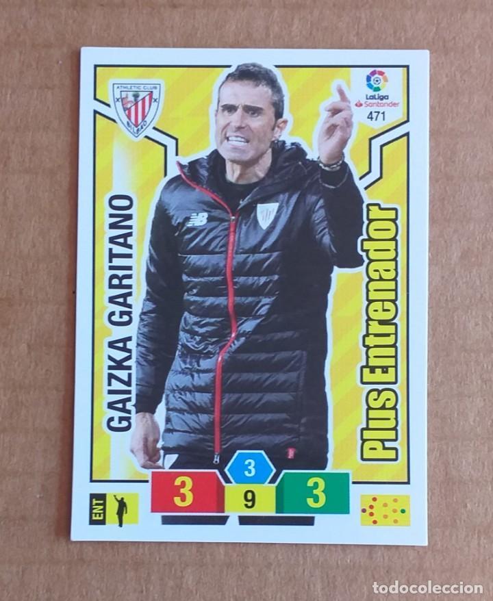 Cromos de Fútbol: Cromo nº 471 Gaizka Garitano PLUS ENTRENADOR Adrenalyn 2018-2019 de Panini. Nuevo. - Foto 2 - 268741839