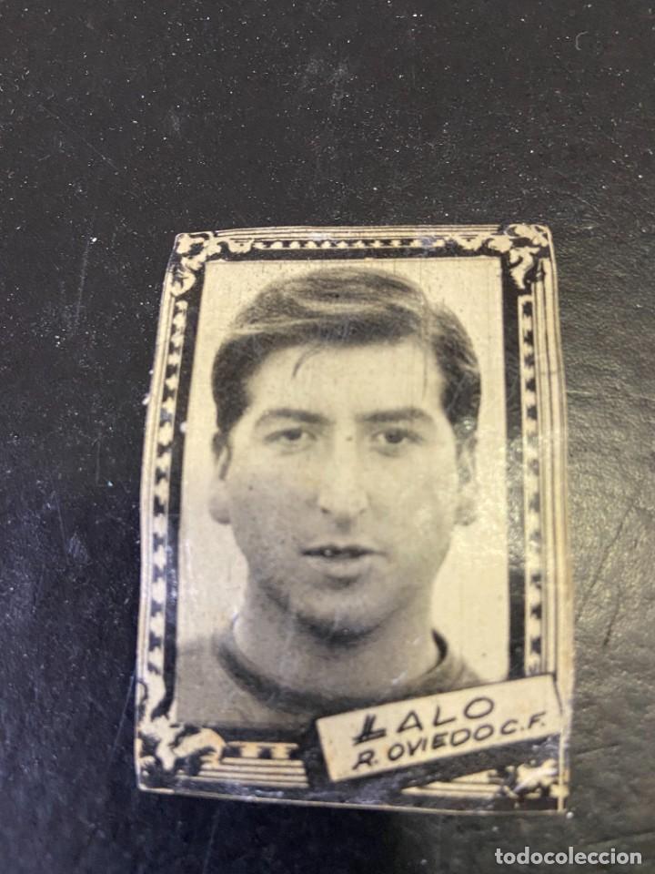 LALO OVIEDO FHER 1959 1960 59 60 (Coleccionismo Deportivo - Álbumes y Cromos de Deportes - Cromos de Fútbol)