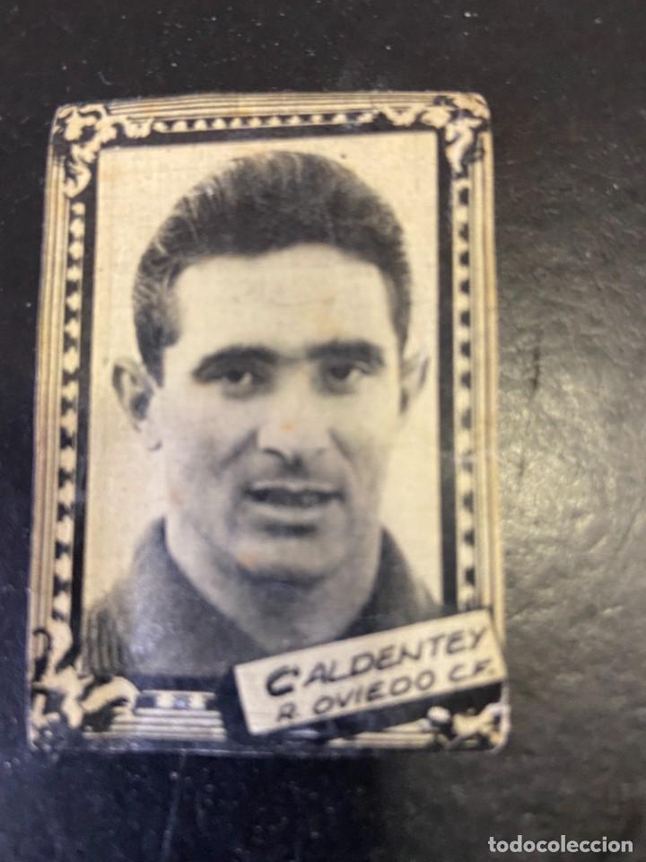 CALDENTEY OVIEDO FHER 1959 1960 59 60 (Coleccionismo Deportivo - Álbumes y Cromos de Deportes - Cromos de Fútbol)