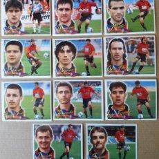Cromos de Fútbol: ESTE - LIGA 2000/2001 - 00 01 - LOTE 11 CROMOS C. ATLETICO OSASUNA. Lote 268863554
