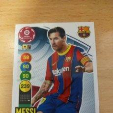 Cromos de Futebol: ADRENALYN 2020/21. MESSI. BARCELONA.. Lote 268879819