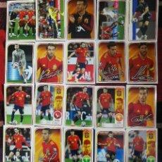 Cromos de Fútbol: COLECCIÓN CROMOS CARREFOUR EUROCOPA 2020 (26 CROMOS + 9 PUNTOS). Lote 266973594