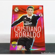 Cromos de Fútbol: MEGACRACKS 2015 2016 15 16 PANINI. CRISTIANO RONALDO Nº 350 HEROES REAL MADRID ALBUM LIGA CARD MGK. Lote 268904539