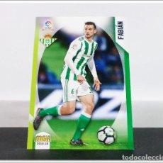 Cromos de Fútbol: MEGACRACKS 2018 2019 18 19 PANINI FABIAN Nº 121 BETIS ALBUM LIGA CARD MEGA CRACKS MGK. Lote 268904599