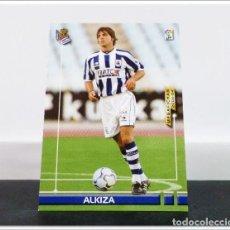 Cromos de Fútbol: MEGAFICHAS 2003 2004 03 04 PANINI ALKIZA Nº 446 FICHAJE REAL SOCIEDAD CARD ALBUM LIGA MEGACRACKS. Lote 268905079
