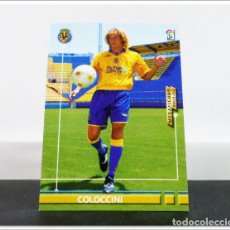 Cromos de Fútbol: MEGAFICHAS 2003 2004 03 04 PANINI COLOCCINI Nº 448 FICHAJE VILLARREAL CARD ALBUM LIGA MEGACRACKS. Lote 268905109