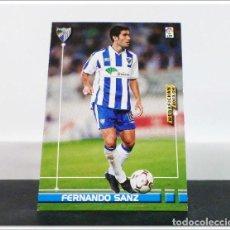 Cromos de Fútbol: MEGAFICHAS 2003 2004 03 04 PANINI FERNANDO SANZ Nº 166 MÁLAGA CARD ALBUM LIGA FÚTBOL MEGACRACKS. Lote 268905164