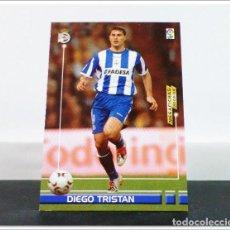 Cromos de Fútbol: MEGAFICHAS 2003 2004 03 04 PANINI DIEGO TRISTAN Nº 125 DEPORTIVO CORUÑA CARD ALBUM LIGA MEGACRACKS. Lote 268905174
