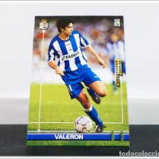 Cromos de Fútbol: MEGAFICHAS 2003 2004 03 04 PANINI VALERÓN Nº 123 DEPORTIVO CORUÑA CARD ALBUM LIGA MEGACRACKS. Lote 268905194