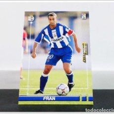 Cromos de Fútbol: MEGAFICHAS 2003 2004 03 04 PANINI FRAN Nº 122 DEPORTIVO CORUÑA CARD ALBUM LIGA MEGACRACKS. Lote 268905209