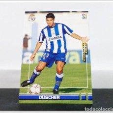 Cromos de Fútbol: MEGAFICHAS 2003 2004 03 04 PANINI DUSCHER Nº 119 DEPORTIVO CORUÑA CARD ALBUM LIGA MEGACRACKS. Lote 268905224
