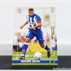 Cromos de Fútbol: MEGAFICHAS 2003 2004 03 04 PANINI MAURO SILVA Nº 118 DEPORTIVO CORUÑA CARD ALBUM LIGA MEGACRACKS. Lote 268905229