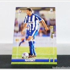 Cromos de Fútbol: MEGAFICHAS 2003 2004 03 04 PANINI NAYBET Nº 113 DEPORTIVO CORUÑA CARD ALBUM LIGA MEGACRACKS. Lote 268905244