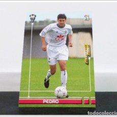 Cromos de Fútbol: MEGAFICHAS 2003 2004 03 04 PANINI PEDRO Nº 6 ALBACETE CARD ALBUM LIGA MEGACRACKS. Lote 268905309