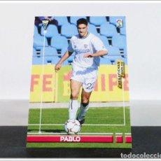 Cromos de Fútbol: MEGAFICHAS 2003 2004 03 04 PANINI PABLO Nº 5 ALBACETE CARD ALBUM LIGA MEGACRACKS. Lote 268905324