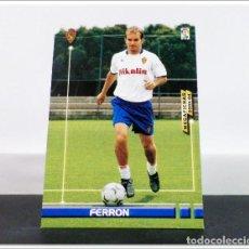 Cartes à collectionner de Football: MEGAFICHAS 2003 2004 03 04 PANINI FERRÓN Nº 345 ZARAGOZA CARD ALBUM LIGA MEGACRACKS. Lote 268905719