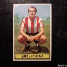 Cromos de Fútbol: SÁEZ ATHLETIC DE BILBAO ESTE 1974-1975 74-75 SIN PEGAR VER FOTOS. PEDIDO MÍNIMO 3 €.. Lote 268907094