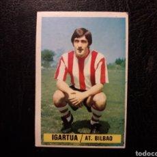 Cromos de Fútbol: IGARTUA ATHLETIC DE BILBAO ESTE 1974-1975 74-75 SIN PEGAR VER FOTOS. PEDIDO MÍNIMO 3 €.. Lote 268907109