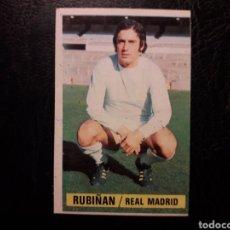 Cromos de Fútbol: RUBIÑÁN REAL MADRID ESTE 1974-1975 74-75 SIN PEGAR VER FOTOS. PEDIDO MÍNIMO 3 €. Lote 268907149