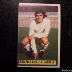 Cromos de Fútbol: SANTILLANA REAL MADRID ESTE 1974-1975 74-75 SIN PEGAR VER FOTOS. PEDIDO MÍNIMO 3 €.. Lote 268907154