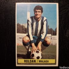Cromos de Fútbol: ROLDÁN MÁLAGA. BAJA. ESTE 1974-1975 74-75 SIN PEGAR VER FOTOS. PEDIDO MÍNIMO 3 €.. Lote 268907344