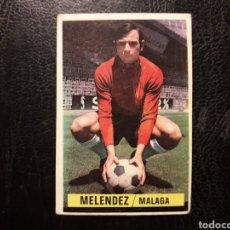 Cromos de Fútbol: MELÉNDEZ MÁLAGA ESTE 1974-1975 74-75 SIN PEGAR VER FOTOS. PEDIDO MÍNIMO 3 €.. Lote 268907359