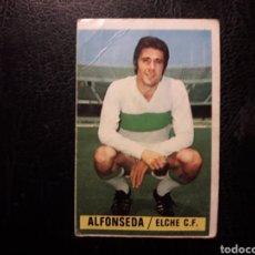 Cromos de Fútbol: ALFONSEDA ELCHE ESTE 1974-1975 74-75 SIN PEGAR VER FOTOS. PEDIDO MÍNIMO 3 €.. Lote 268907374