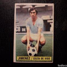 Cromos de Fútbol: JIMÉNEZ CELTA DE VIGO ESTE 1974-1975 74-75 SIN PEGAR VER FOTOS. PEDIDO MÍNIMO 3 €.. Lote 268907399
