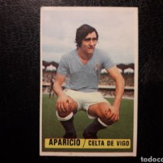 Cromos de Fútbol: APARICIO CELTA DE VIGO ESTE 1974-1975 74-75 SIN PEGAR VER FOTOS. PEDIDO MÍNIMO 3 €.. Lote 268907404