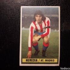 Cromos de Fútbol: HEREDIA AT DE MADRID ESTE 1974-1975 74-75 SIN PEGAR VER FOTOS. PEDIDO MÍNIMO 3 €. Lote 268907419
