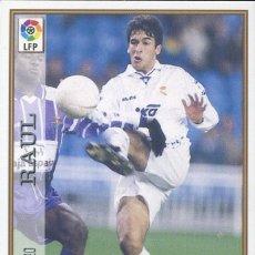 Cromos de Fútbol: FICHAS DE LA LIGA 1997-98 Nº 20 RAUL - R. MADRID CF. Lote 268910099