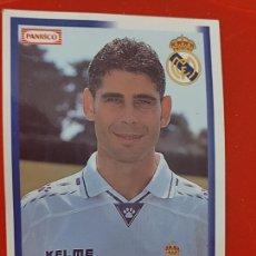 Cromos de Fútbol: PANRICO HIERRO REAL MADRID 1996 1997 CROMO SIN PEGAR NUNCA PROMOCIONAL PASTELITO Nº 21 DORSAL 16. Lote 268933919