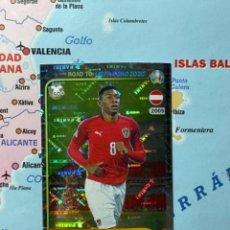 Cromos de Fútbol: ALABA CROMO NÚMERO 2 ROAD TO EURO 2020. Lote 268934179