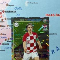 Cromos de Fútbol: MODRIC CROMO NÚMERO 34 ROAD TO EURO 2020. Lote 268935384