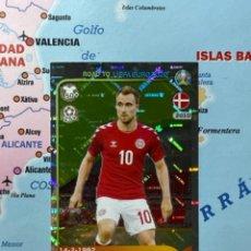 Cromos de Fútbol: ERIKSEN CROMO NÚMERO 66 ROAD TO EURO 2020. Lote 268935694