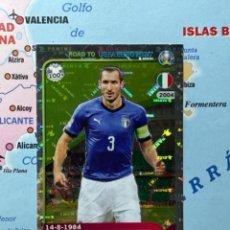 Cromos de Fútbol: CHIELLINI CROMO NÚMERO 162 ROAD TO EURO 2020. Lote 268936069