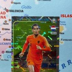 Cromos de Fútbol: VIRGIL VAN DIJK CROMO NÚMERO 178 ROAD TO EURO 2020. Lote 268936204