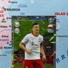 Cromos de Fútbol: LEWANDOWSKI CROMO NÚMERO 210 ROAD TO EURO 2020. Lote 268936399