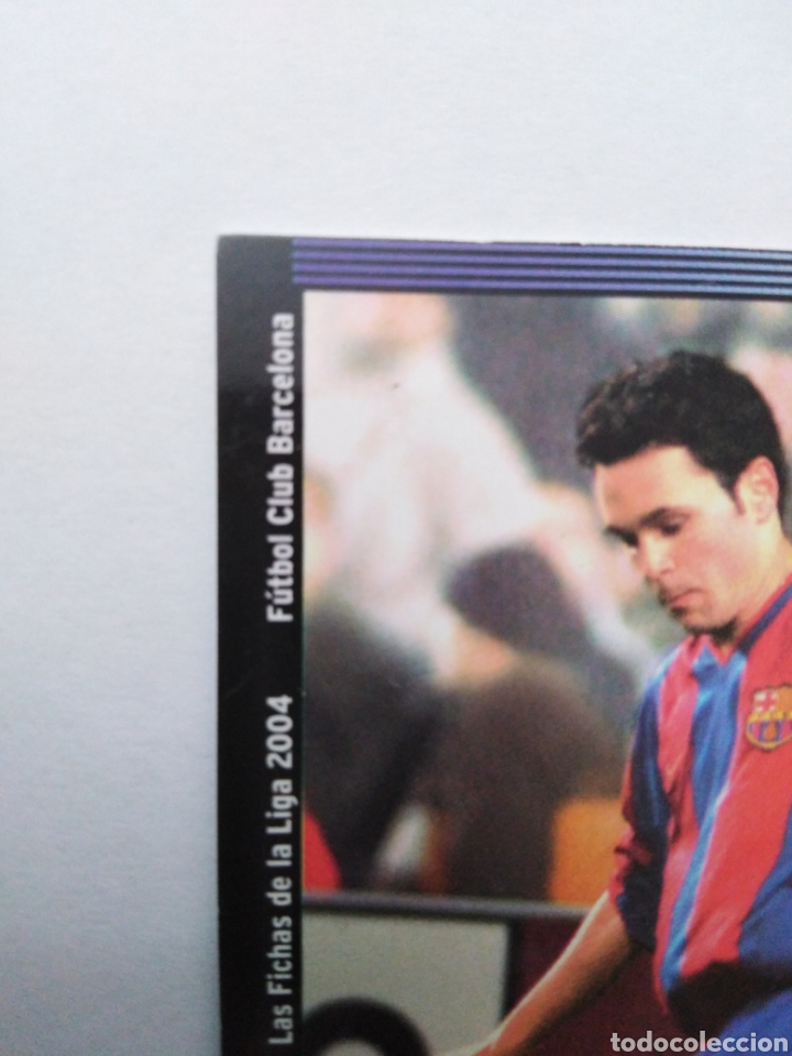 Cromos de Fútbol: Iniesta cromo de fútbol, F.C.BARCELONA número 152, mundicromo ficha liga 2003-2004 ( 03-04 ) - Foto 2 - 268951609