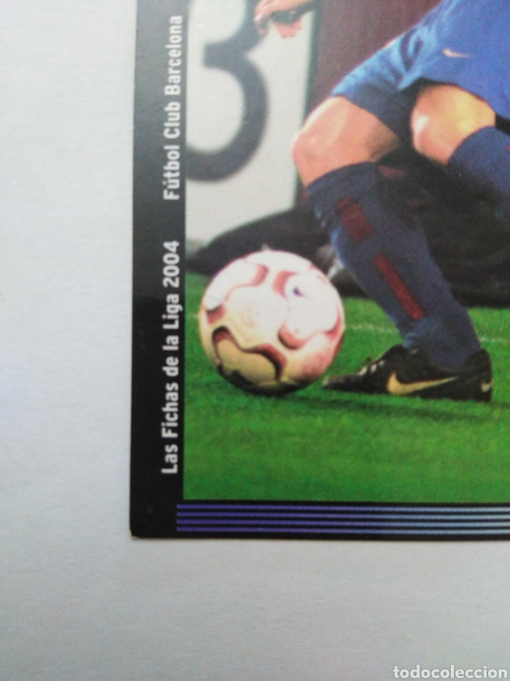 Cromos de Fútbol: Iniesta cromo de fútbol, F.C.BARCELONA número 152, mundicromo ficha liga 2003-2004 ( 03-04 ) - Foto 4 - 268951609