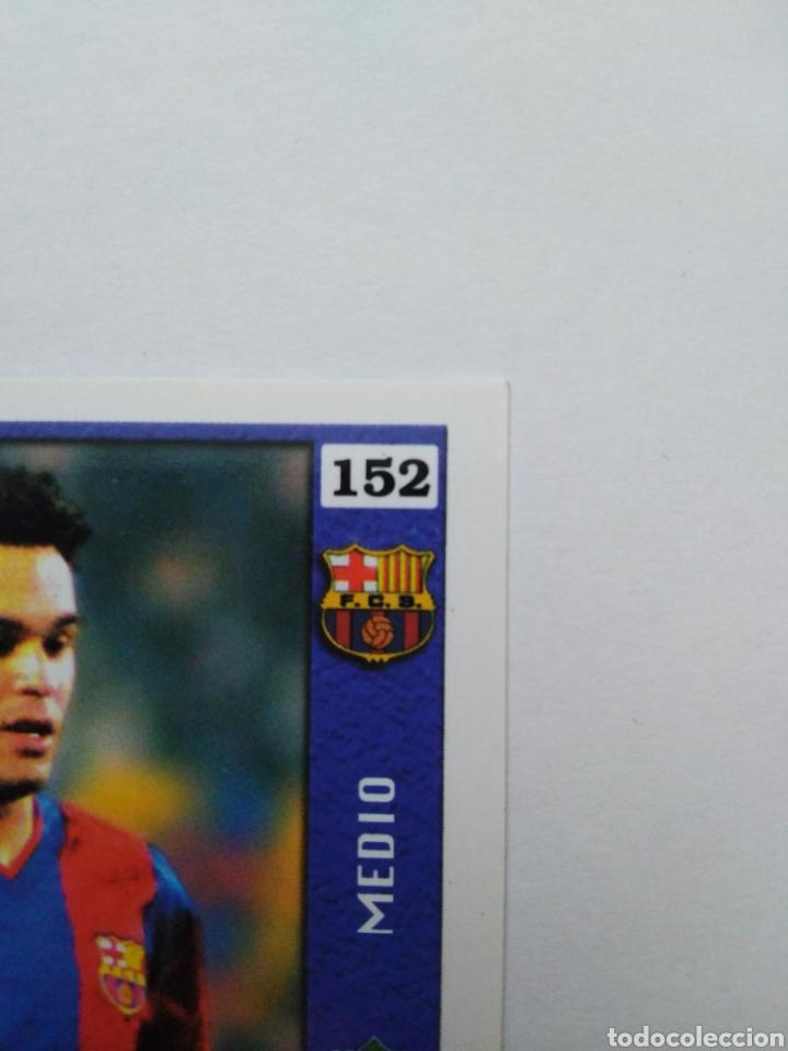 Cromos de Fútbol: Iniesta cromo de fútbol, F.C.BARCELONA número 152, mundicromo ficha liga 2003-2004 ( 03-04 ) - Foto 9 - 268951609