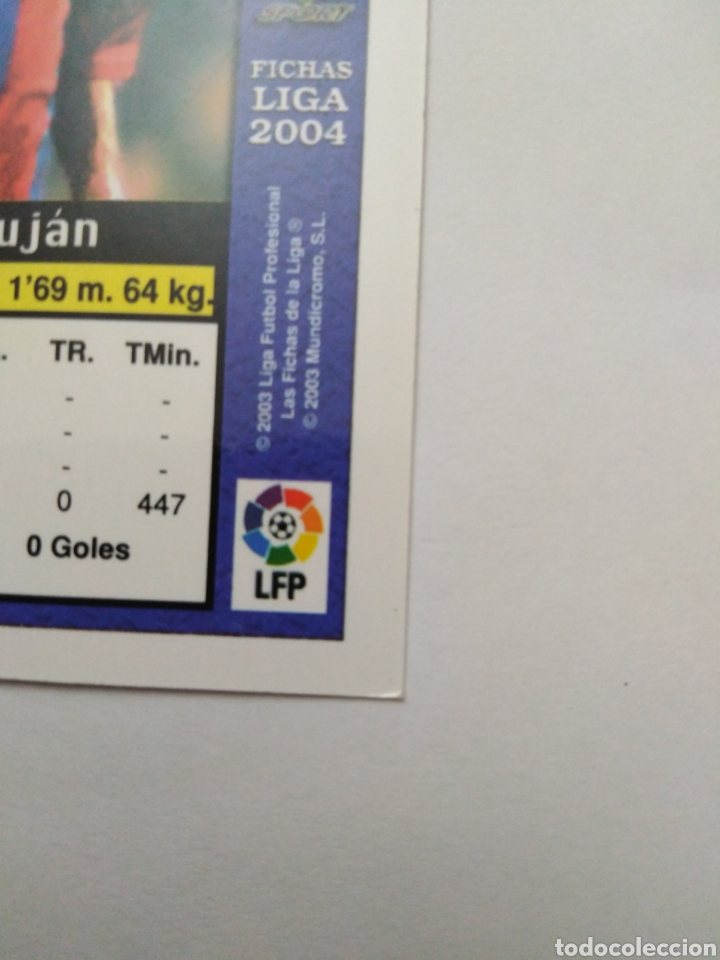 Cromos de Fútbol: Iniesta cromo de fútbol, F.C.BARCELONA número 152, mundicromo ficha liga 2003-2004 ( 03-04 ) - Foto 10 - 268951609