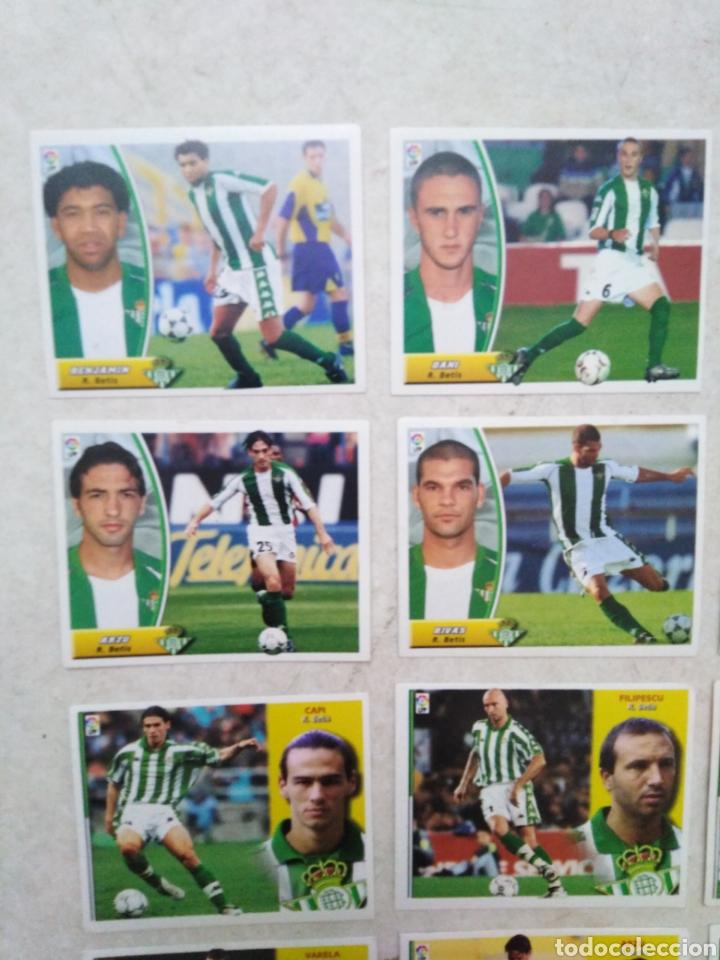 Cromos de Fútbol: Lote de 21 cromos ( 8 cromos liga 2003-2004 y 13 cromos liga 2002-2003 ) Real Betis Balompie - Foto 3 - 268953449