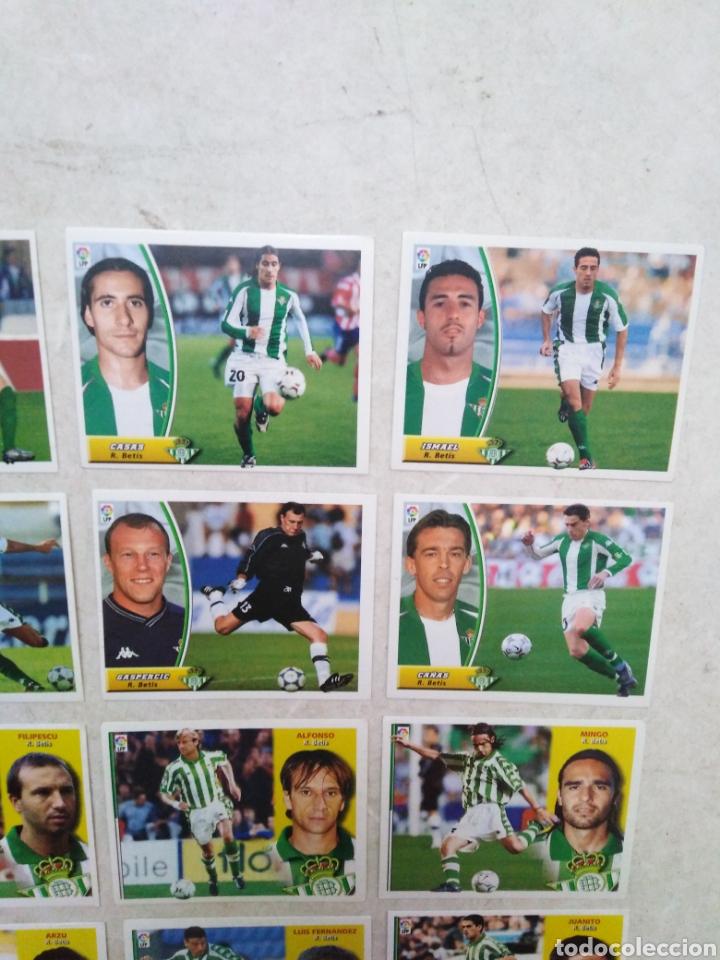Cromos de Fútbol: Lote de 21 cromos ( 8 cromos liga 2003-2004 y 13 cromos liga 2002-2003 ) Real Betis Balompie - Foto 4 - 268953449