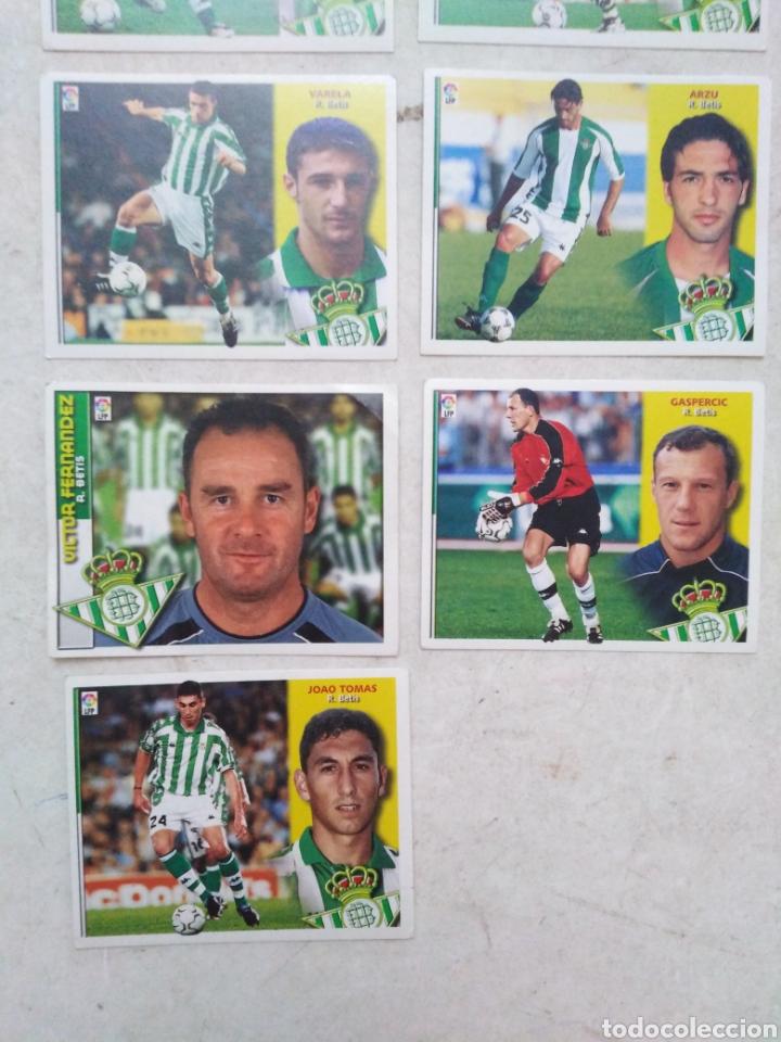 Cromos de Fútbol: Lote de 21 cromos ( 8 cromos liga 2003-2004 y 13 cromos liga 2002-2003 ) Real Betis Balompie - Foto 5 - 268953449
