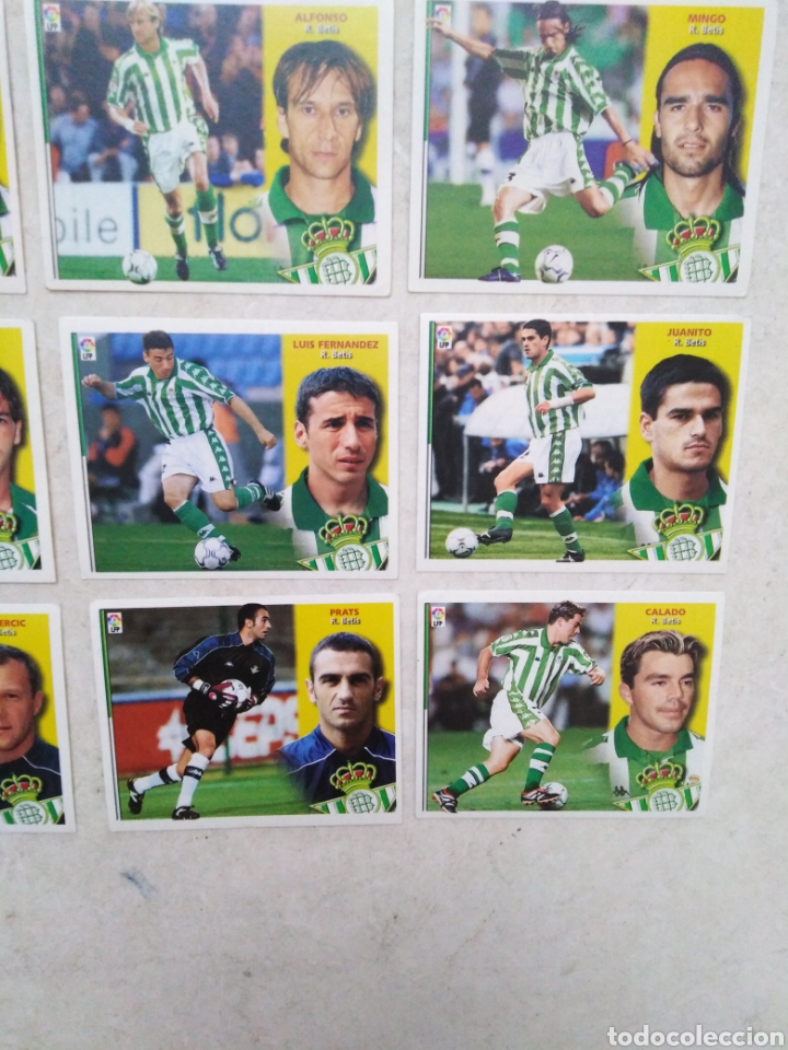 Cromos de Fútbol: Lote de 21 cromos ( 8 cromos liga 2003-2004 y 13 cromos liga 2002-2003 ) Real Betis Balompie - Foto 6 - 268953449