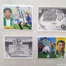Cromos de Fútbol: LOTE DE 21 CROMOS ( 8 CROMOS LIGA 2003-2004 Y 13 CROMOS LIGA 2002-2003 ) REAL BETIS BALOMPIE. Lote 268953449