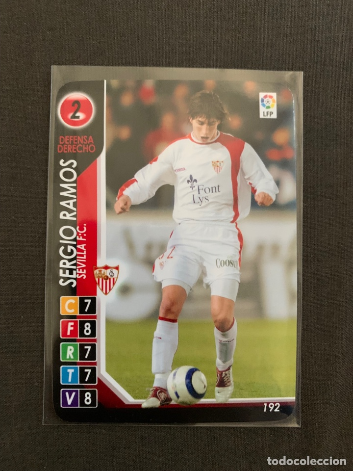 ROOKIE SERGIO RAMOS (SEVILLA) 192 DERBY TOTAL 2004-2005 (Coleccionismo Deportivo - Álbumes y Cromos de Deportes - Cromos de Fútbol)