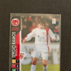 Cromos de Fútbol: ROOKIE SERGIO RAMOS (SEVILLA) 192 DERBY TOTAL 2004-2005. Lote 268957249