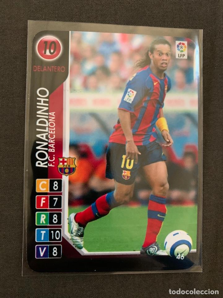 RONALDINHO 46 DERBY TOTAL 2004-2005 (Coleccionismo Deportivo - Álbumes y Cromos de Deportes - Cromos de Fútbol)